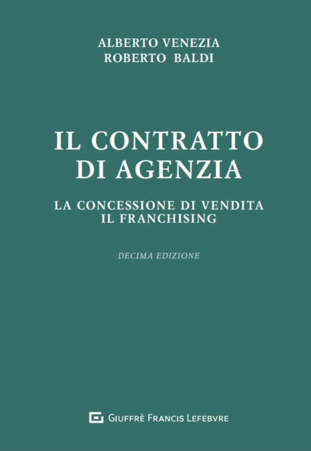 Il contratto di agenzia   Alberto Venezia